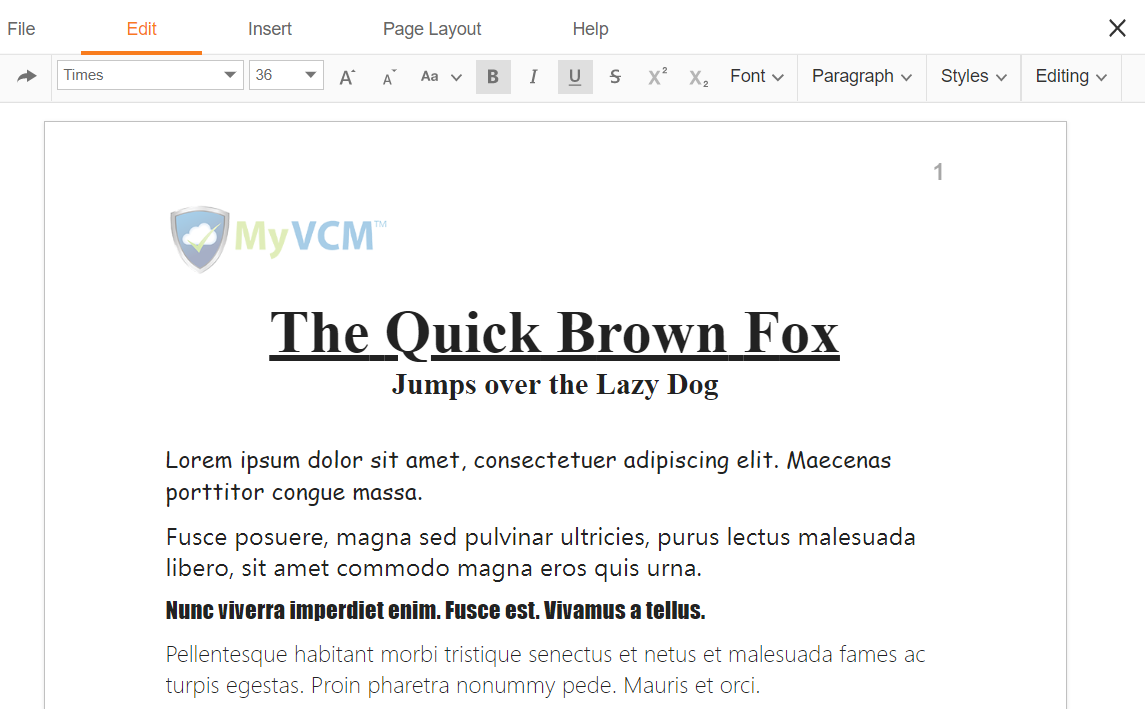 MyVCM Document Editing (1)