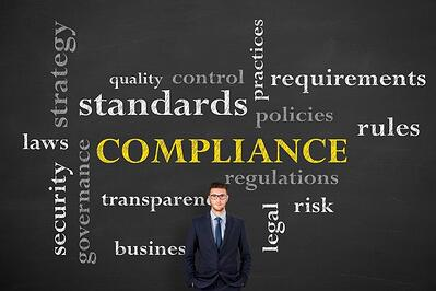 iStock-compliance blackboard, standards, requirements, rules, security