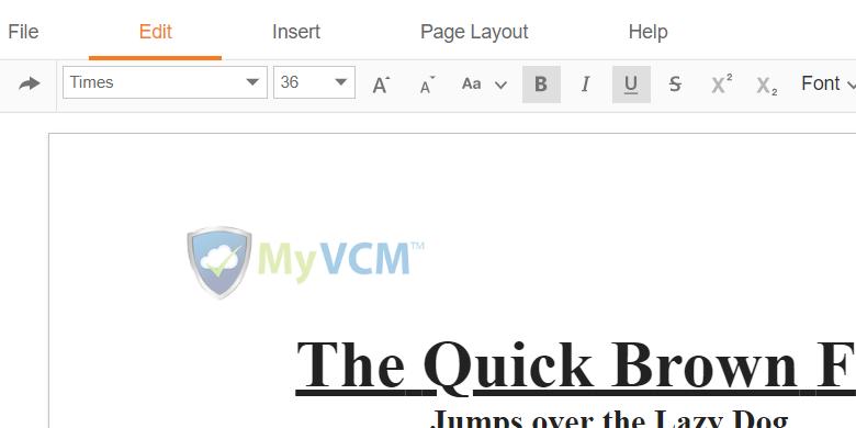 MyVCM Update Final